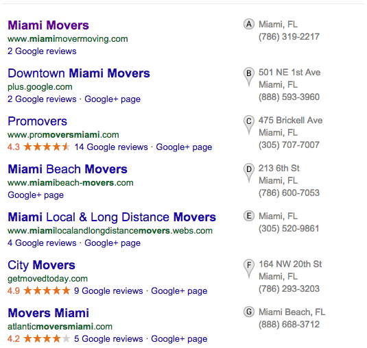 Google Local Results – More Snack Pack Than Map Pack