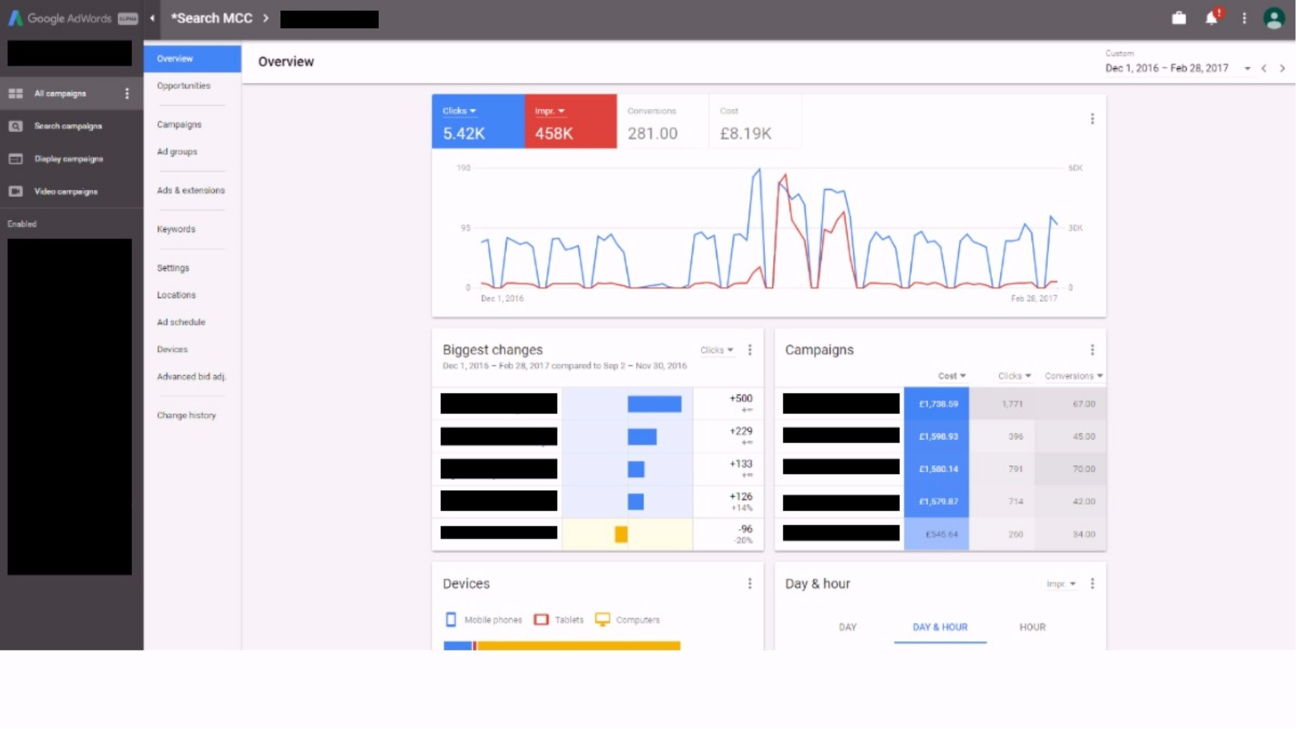 First Look at the New Google AdWords Interface (Alpha)