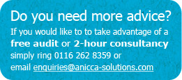 Contact Anicca for free audit