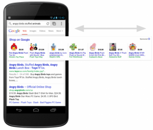 Mobile Product Listing Ads