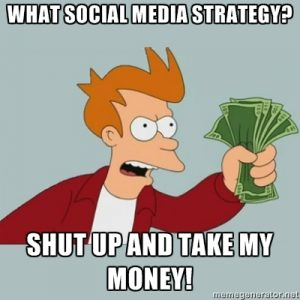 Social Strategy Meme
