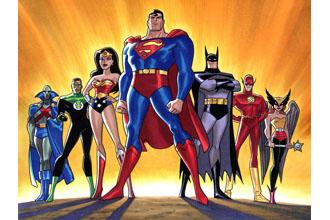 superheroes of ads
