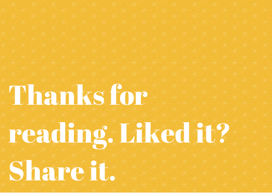 Thank you for reading the blog. If you liked it, share it.