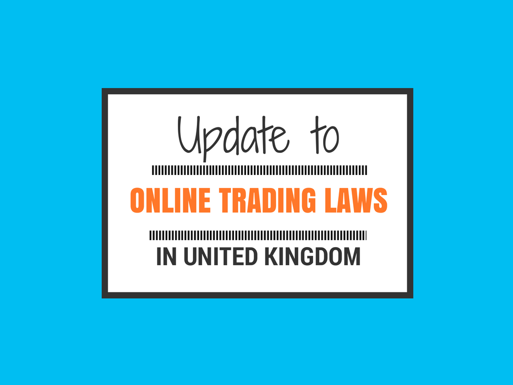 update to online trading laws