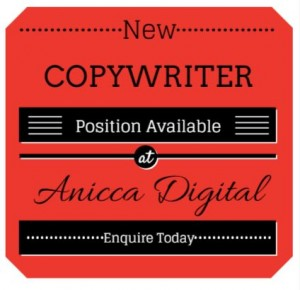 Vacancy for an experienced copywriter within our Leicester SEO and PR Agency