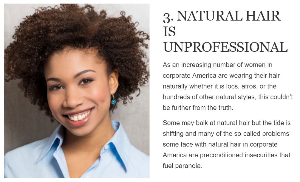 Unprofessional hair result