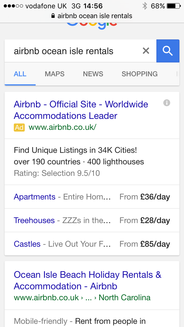 New In Google AdWords – Table Ad Extensions Beta