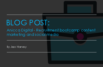 Anicca Digital – Recruitment Bootcamp Content Marketing & Social Media