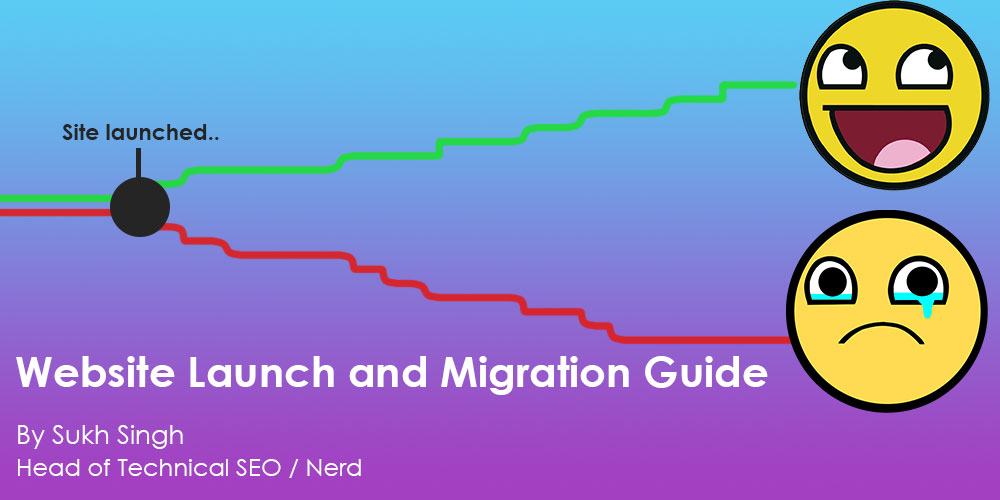 Website launch and migration guide by Sukh Singh