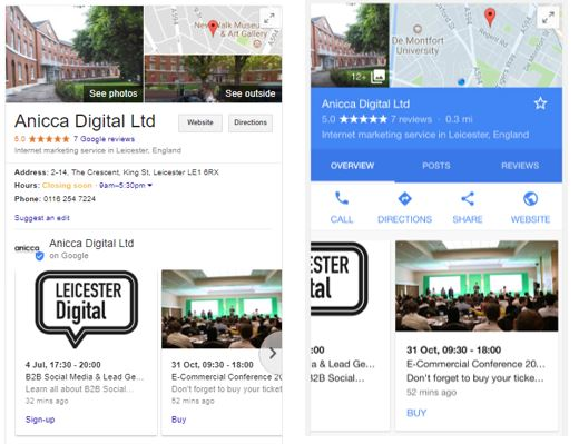 Google Releases New 'Posts' Feature For Local Businesses