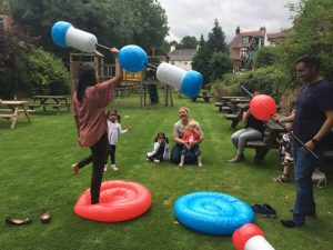 Fun and frolics at Anicca's summer party and 10th birthday bash!