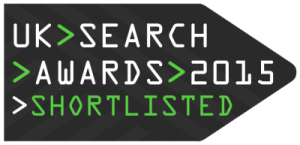 UK search awards 2015 - Anicca Digital was shortlisted for their Charles Bentley PPC campaign.