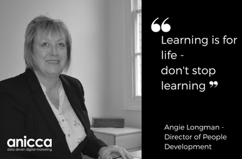 Female leaders at Anicca Digital – Angie Longman