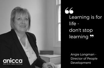 Female leaders at Anicca Digital – Angie Longman