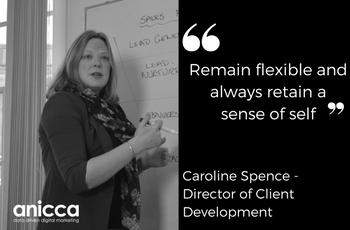 Female leaders at Anicca Digital – Caroline Spence