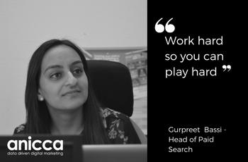 Female leaders at Anicca Digital – Gurpreet Bassi