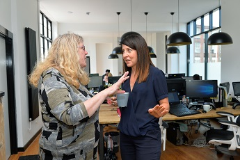 The New Anicca Digital Office Opened by Leicester West MP Liz Kendall
