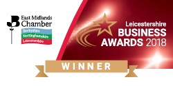 East Midlands Business Awards Finalist