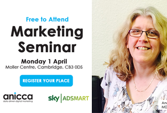 Free Seminar in Cambridge on the Latest Digital Marketing Techniques and how to use the A10 Marketing Framework