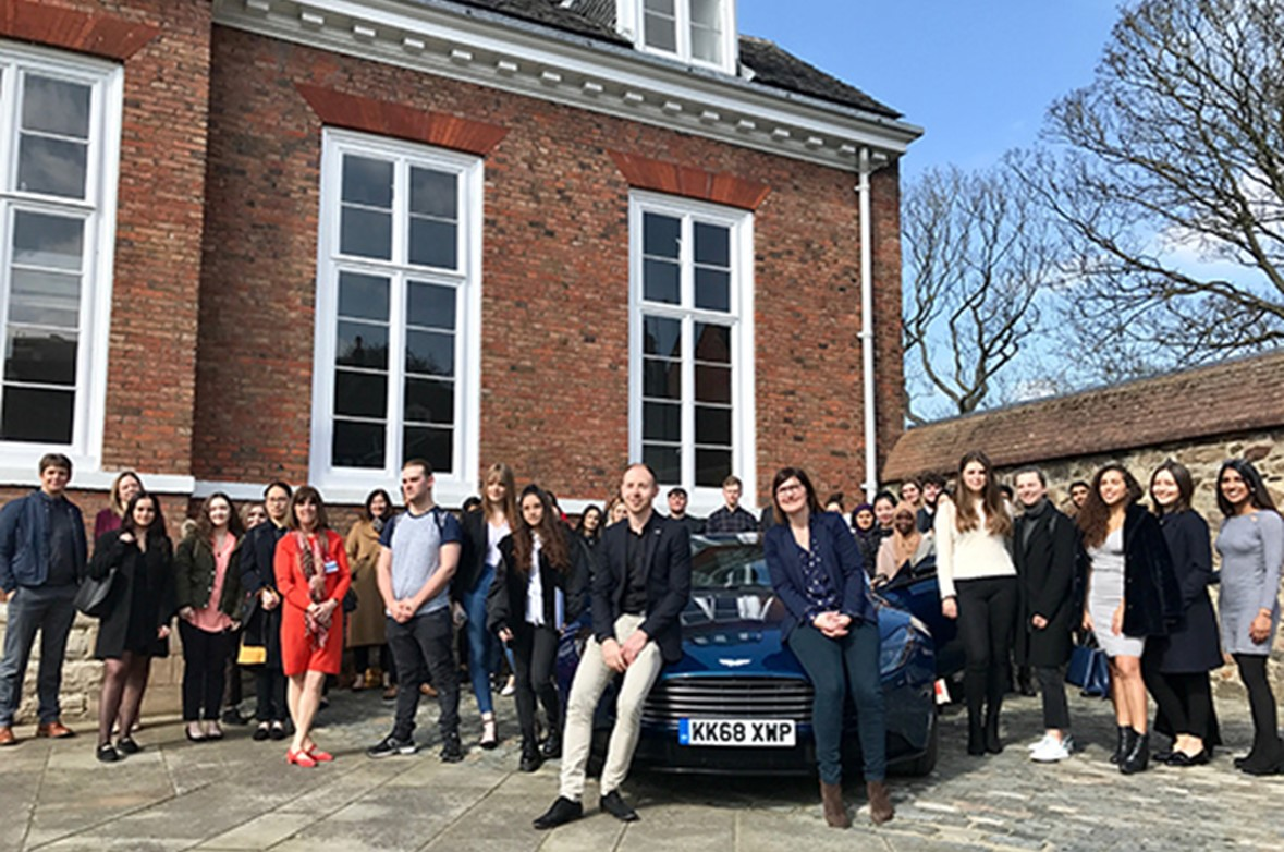 Anicca Digital works with Aston Martin and De Montfort University to train students to deliver a live marketing brief