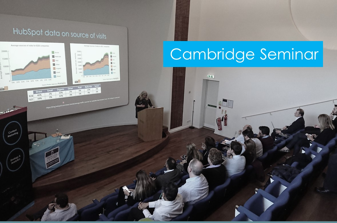 Cambridge Marketing Seminar Recap with Slides – 1 April