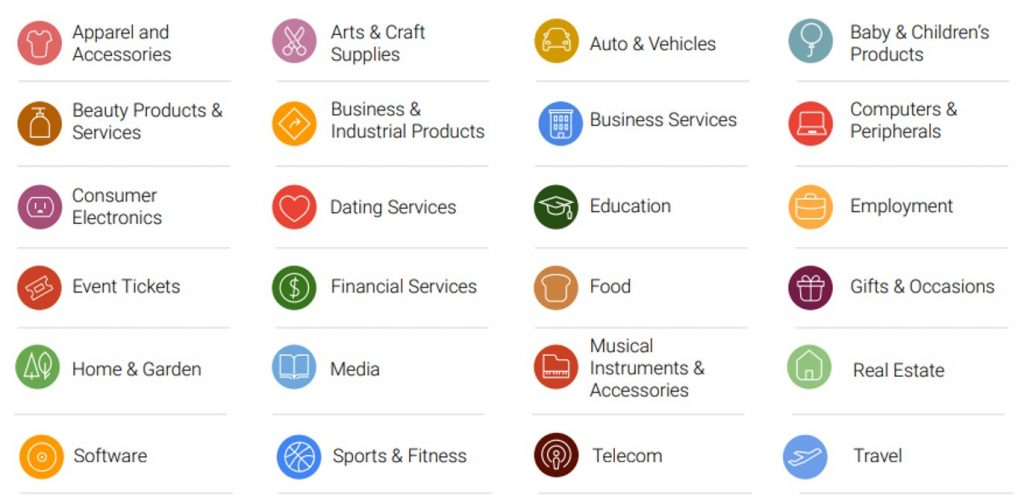 In Market Categories