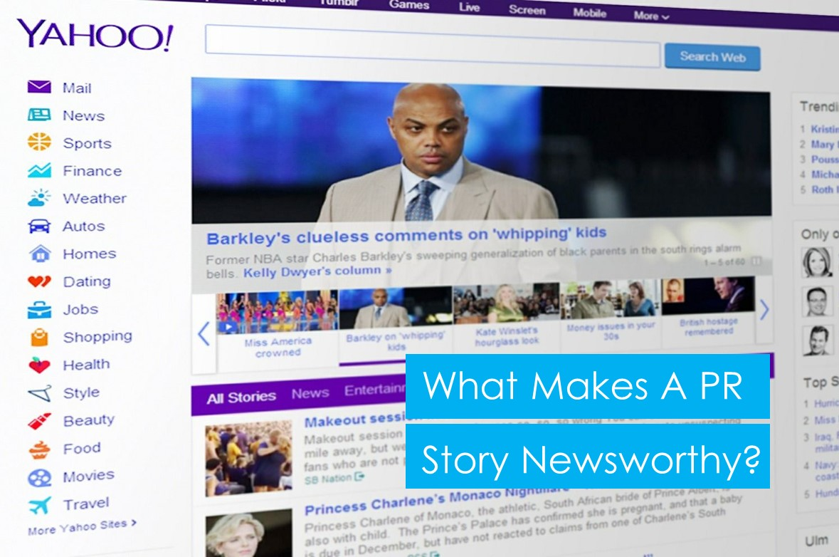 What makes a PR story newsworthy?