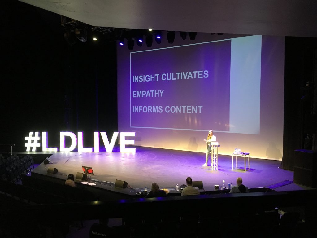 Insight cultivates empathy and informs content