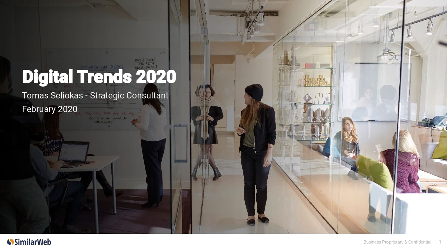 Digital 100: Top Industry Trends of 2020 by Tomas Seliokas of SimilarWeb