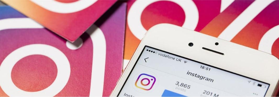 Instagram stock photo.