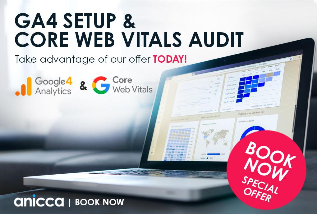 Great Offers On Core Web Vitals Audit & GA4 Setups