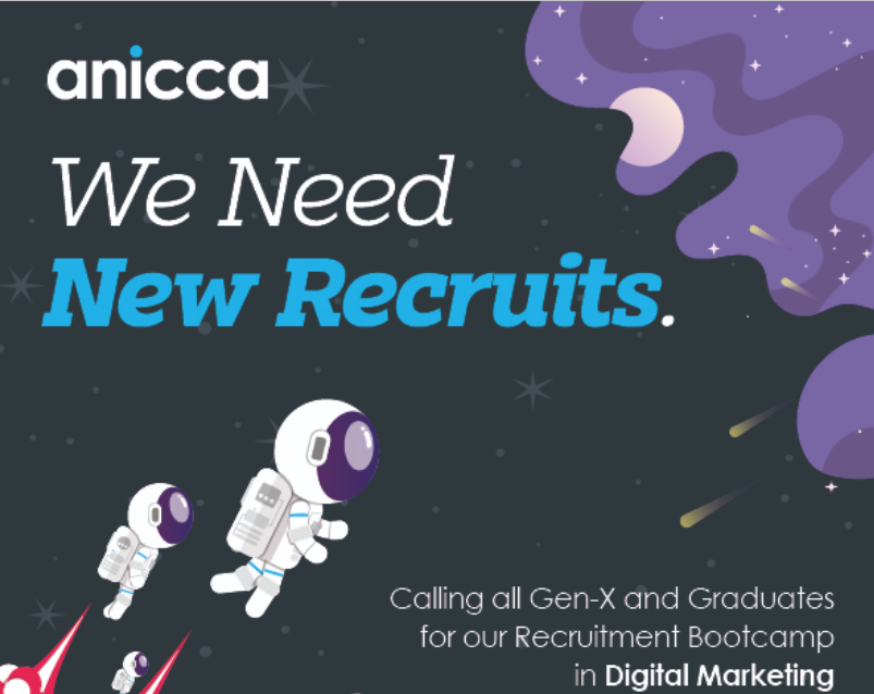 Start a new career in digital marketing – we are recruiting now for our Paid Media Bootcamp in September