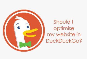 Should I optimise my website on DuckDuckGo?